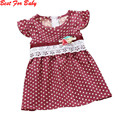 Girls Dress Новый Dot печати Детские Богемные Пляжные платья без рукавов детская одежда дети свадебные платья