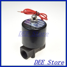 220в N / C DN10 ABS инжиниринг антикоррозионные пластиковые электрический водяной топливный клапан электромагнитный клапан