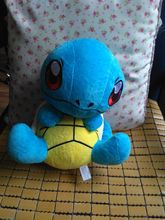 new Plush turtle toy movie cartoon turtle blue turtle doll gift about 30cm