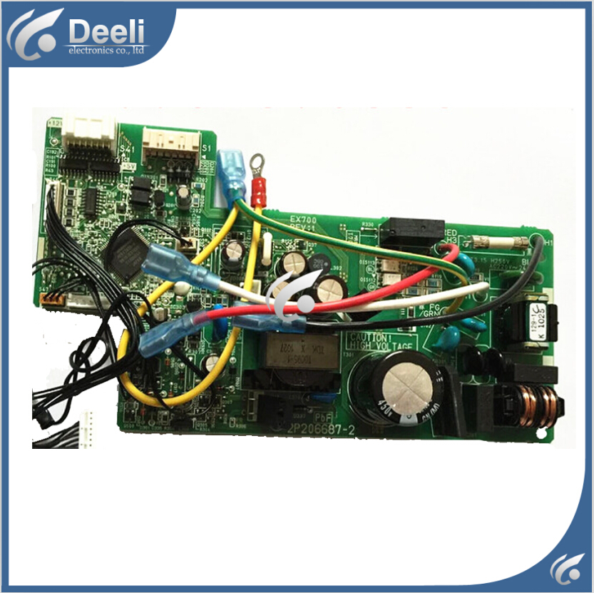 95% new good working for air conditioner motherboard PC board FTXG50JV2CW control board 2P206687-2 good working 95% new good working for air conditioner control board pc board db93 01444d good work