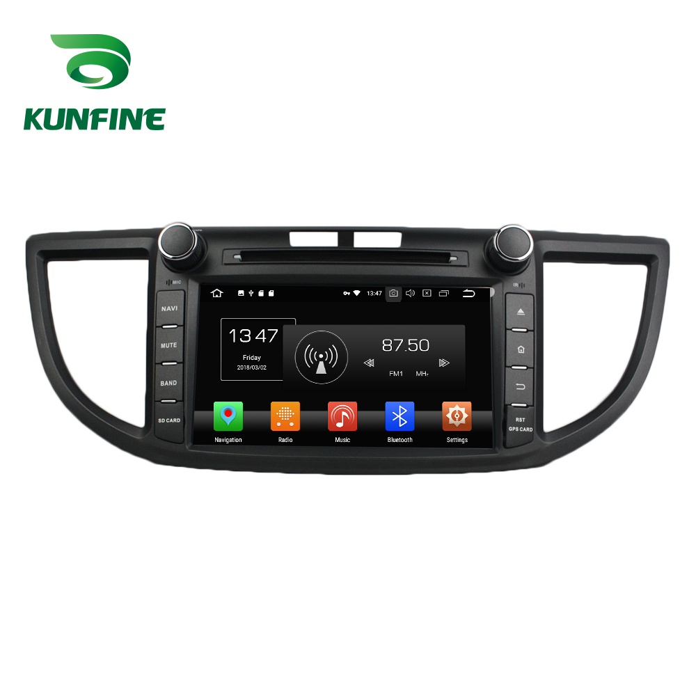 Octa Core 4GB RAM Android 8.0 Car DVD GPS Navigation Multimedia Player Car Stereo for HONDA CRV 2012 Radio Headunit octa core 4gb ram android 8 0 car dvd gps navigation multimedia player car stereo for bmw mini cooper after 2006 2013 radio