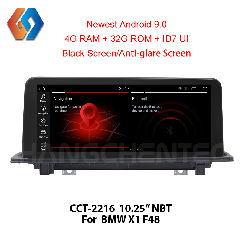 Px6 RK3699 For BMW X1 F48 NBT GPS Navigation Touch Screen Android 9 Multimedia Car DVD