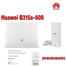 Беспроводной маршрутизатор huawei-B315s-608 4G cpe маршрутизатор+ антенна 4g