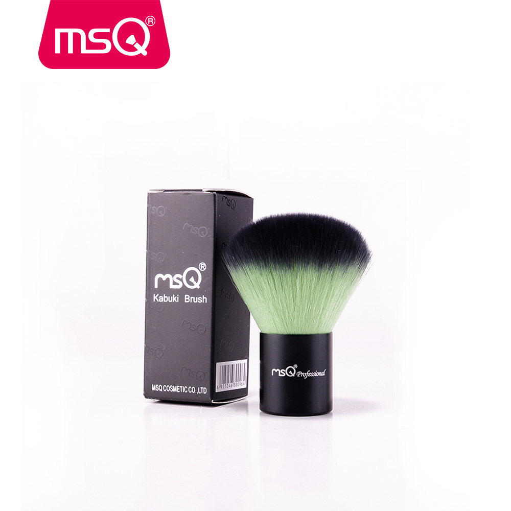 MSQ Professional Powder Brush High-end Synthetic Hair Double Color Kabuki Brush For Make Up For Beauty 1000g 98% fish collagen powder high purity for functional food