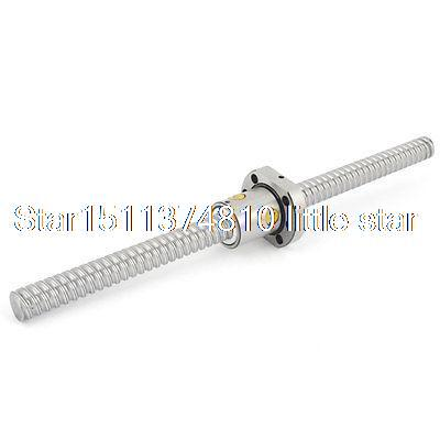 SFU1610 Silver Tone Metal 10mm Lead 300mm Length Ball Screw sfu1610 silver tone metal 10mm lead 300mm length ball screw