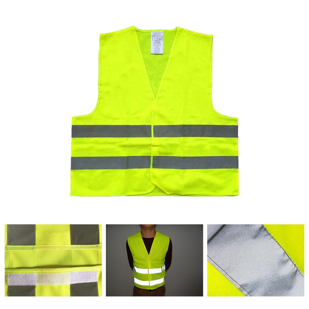 Useful First Aid Kit+Warning Tripod+Safety Vest Car Safety For Roadside Emergencies Warning Triangle Sign Reflective Vest Jacket