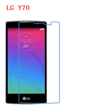 5 Pcs Ultra Thin Clear HD LCD Screen Guard Protector Film With Cleaning Cloth For LG Y70 H422. цена