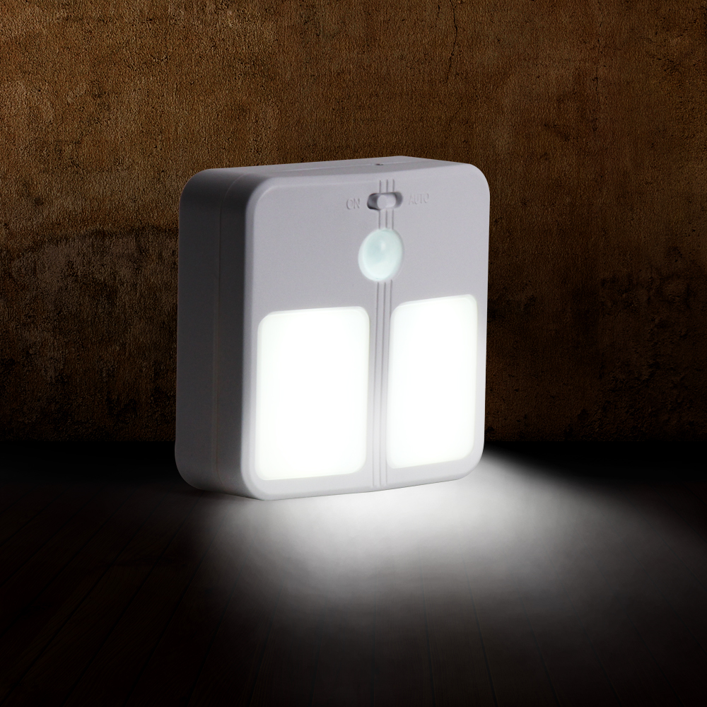 motion sensor night light wireless wall lamp led light. Black Bedroom Furniture Sets. Home Design Ideas