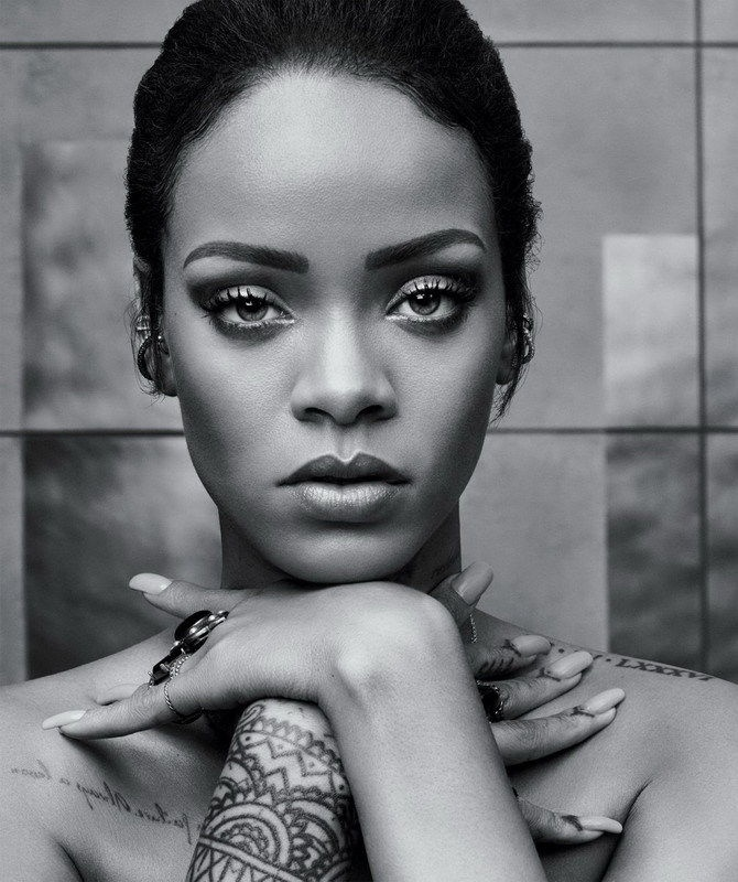 167 Rihanna - American R&B Music Super Star Sexy Actress Art 24x29 Poster