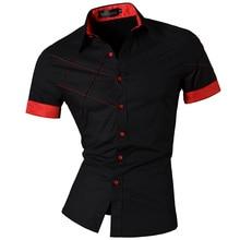 Casaul бренд-одежда xl, m, l, xxl fit коротким рубашки лето весна