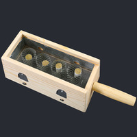 Article moxa moxa Duan Yi special moxibustion box moxibustion box moxibustion tool four column moxa box wooden moxibustion appa
