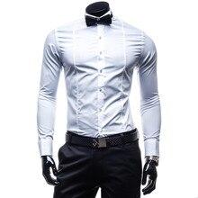 Галстук-бабочка) (в m-xxl числе том стильные размер: черный/белый смокинг сорочка homme