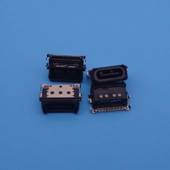 10pcs/lot Micro USB Connector Jack Charging Socket port plug dock female Replacement repair Parts for Huawei mate 9 MT 9