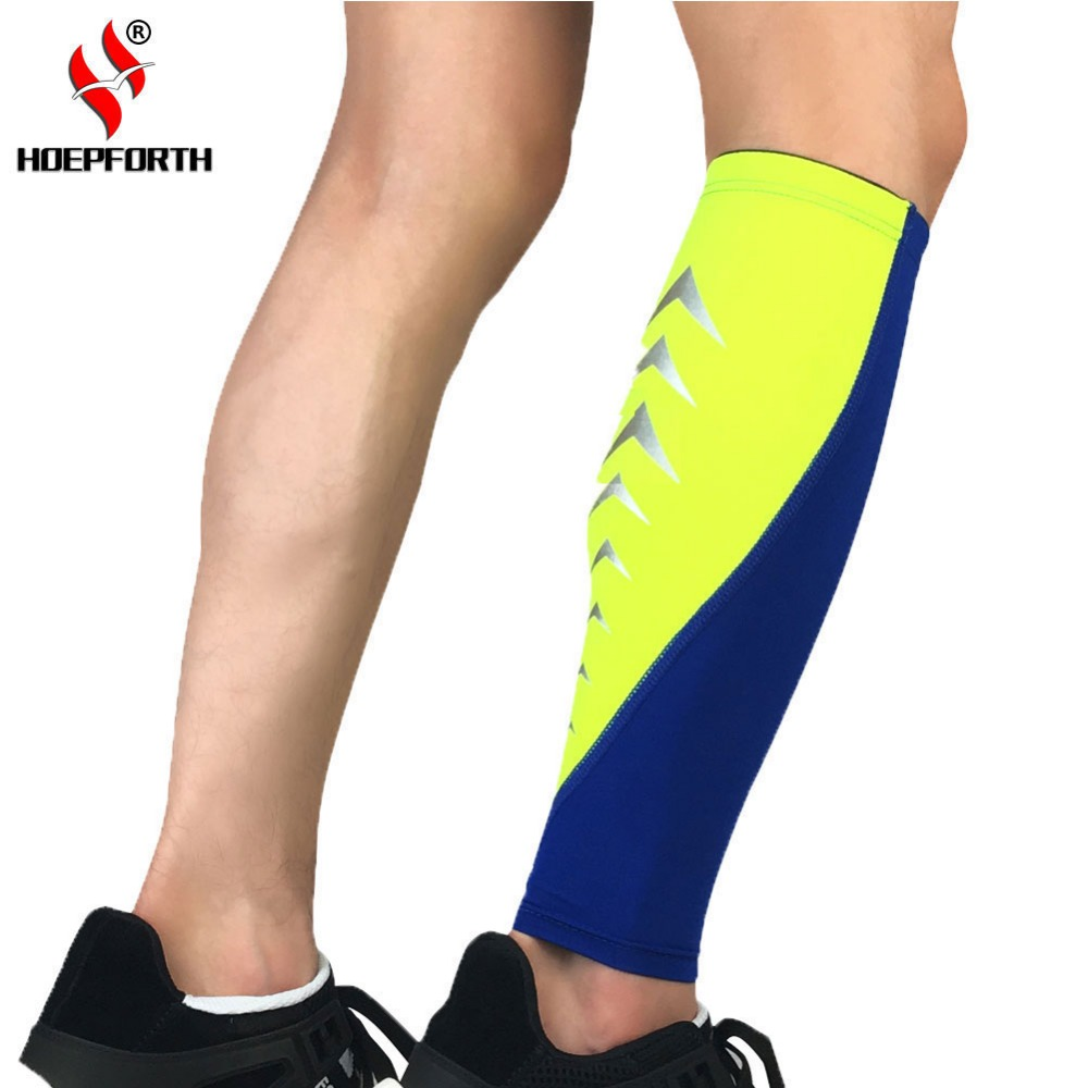 Compression Leg Sleeve Calf Brace Sports Protection Leg Warmers Football Cycling Running Badminton Elastic Shin Wraps Купальник