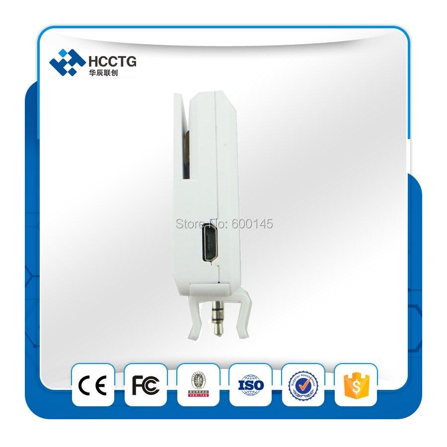 Machine de position Mobile de lecteur de carte de crédit de NFC de MPOS de prise audio ACR35 - 5