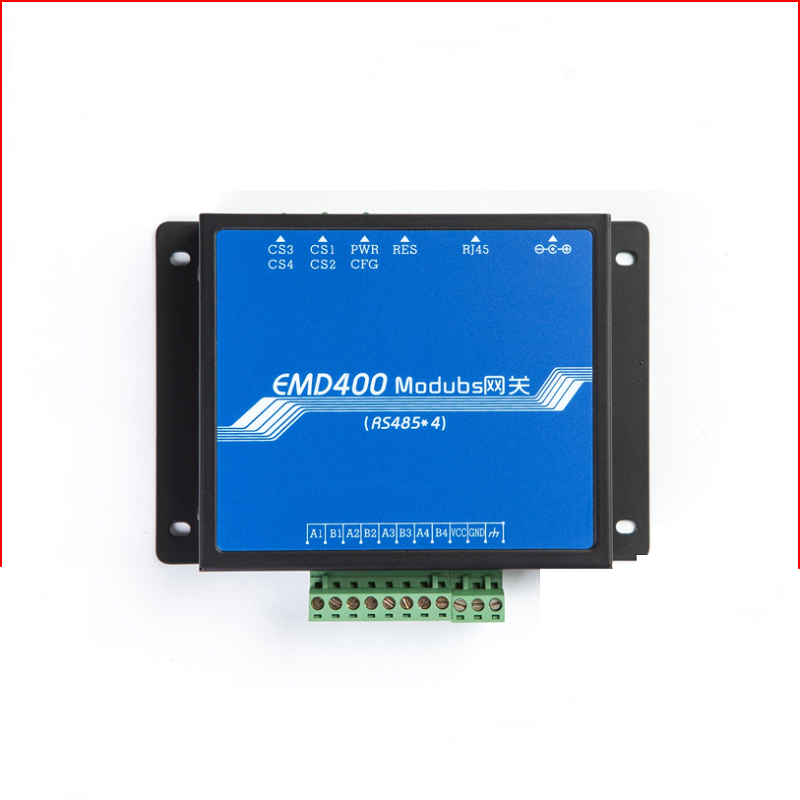 Modbus gateway TCP RTU module 485 to network port 4 serial to Ethernet industrial isolation protection