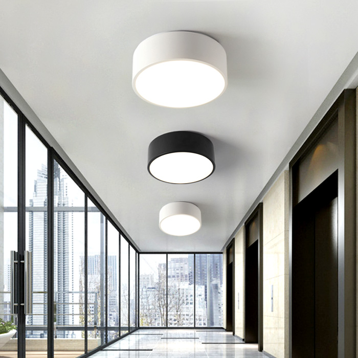 Corridor Led Surface Light Nordic Aisle Porch Lamp Foyer Home Balcony Round Small Ceiling Light Bedroom Ceiling Lamps Luminaria simple style ceiling light wooden porch lamp square ceiling lamp modern single head decorative lamp for balcony corridor study