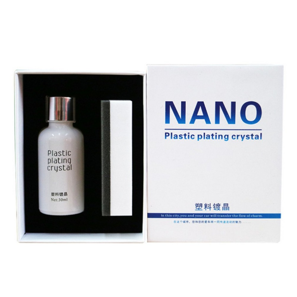 Car Plastic Nano Plating Agent Auto Renovative Agent For Car Repair Waterproof Renewing Polishing Crystal Car Protection