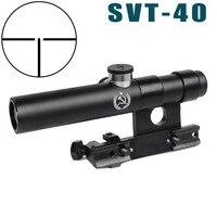 3.5X Shockproof Multi coated SVT 40 Scope Shockproof SVD Mosin Nagant hunting Rifle Scope AK riflescope AKscop hunting optics