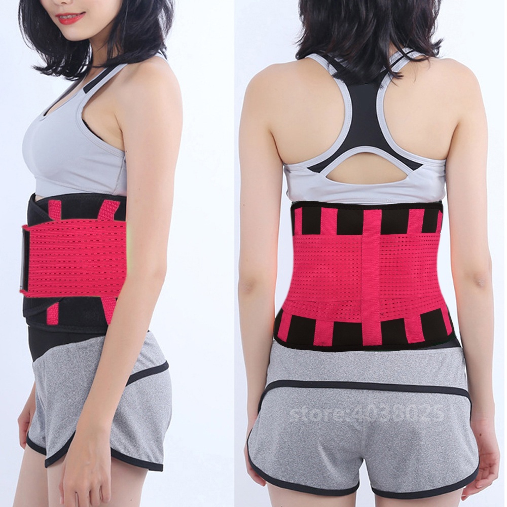 Slimming Fitness Belt Body Shaper Posture Corrector Orthopedic Brace Back Lumbar Support Belt Woman Belly Support Belt for Men