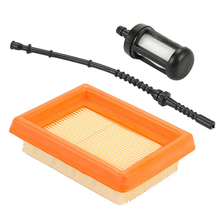 цена на High Quality Air Filter Kit For Stihl FS120 FS200 FS250 FS300 FS350 FS400 FS450 FS310 Trimmer Garden Tools Parts