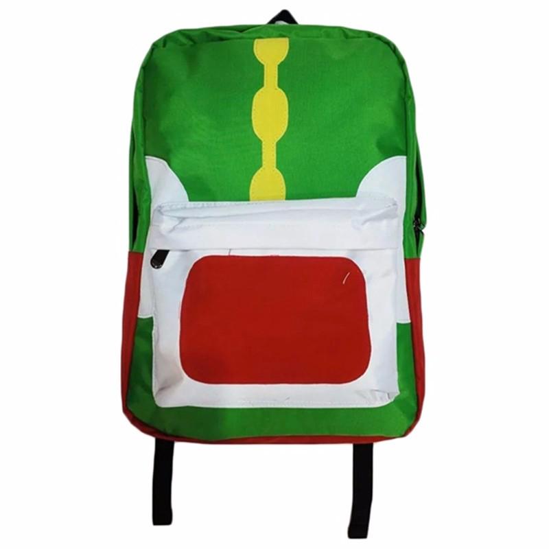 Cute Mochila Super Mario Backpack Children Teenagers Cartoon Girl Plush Bags Kids School Bags Super Mario Bros Printing Backpack (3)