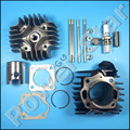 Cylinder Head Piston Rings Gasket Top End Kit For Suzuki LT50 ALT50 LTA50 JR50
