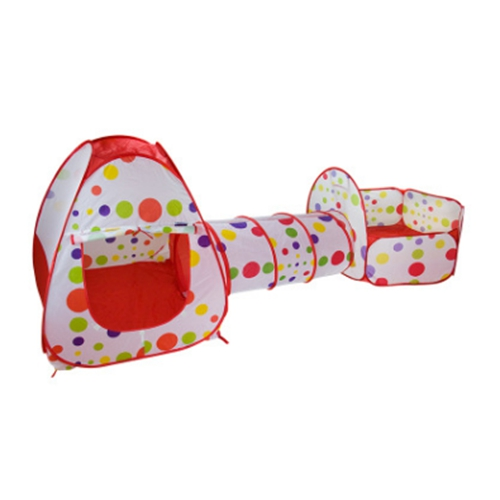 3 In 1 Kids Tent for children Pipeline Crawling Huge Game Yard Ball Pool lodge FASHION Toy tents