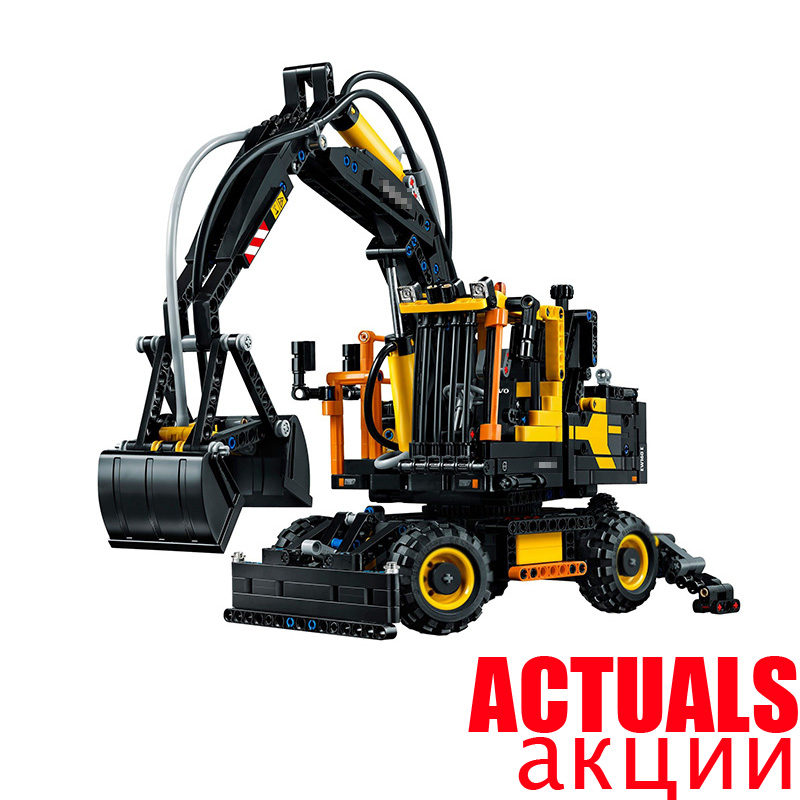 Lepin  technic 20023 1166Pcs Technical Ultimate Series The Ew160e excavator set Educational Building Blocks Bricks Toys  42053 new technical excavator duplo toys large