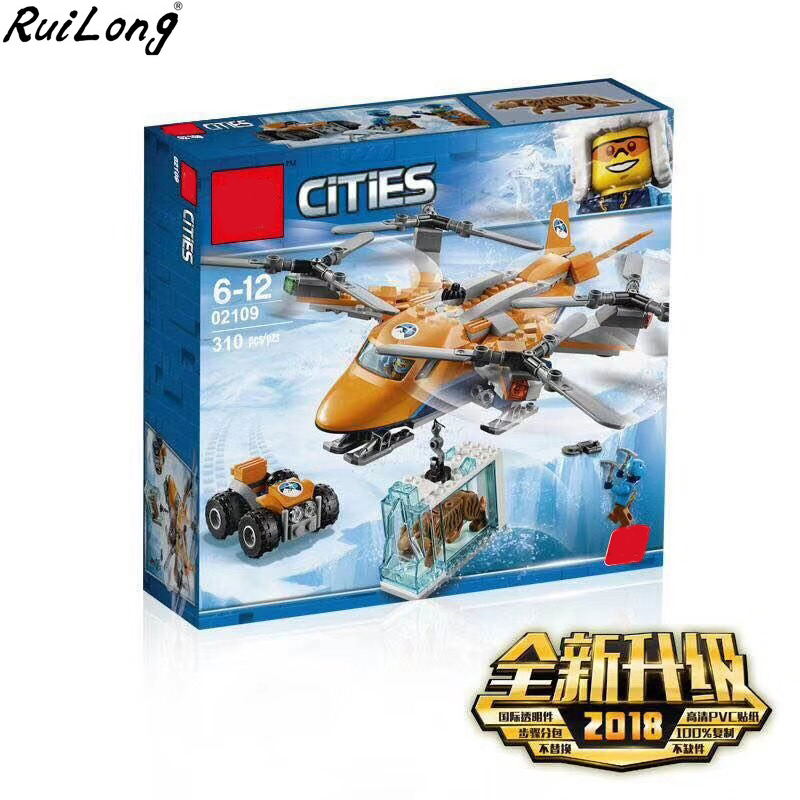 Neue Stadt Serie Arktischen Eis Crawler Set Spielzeug Bausteine Bricks Kompatibel LegoINGLY 60193 Kits Junge Christmas Geschenk 60193