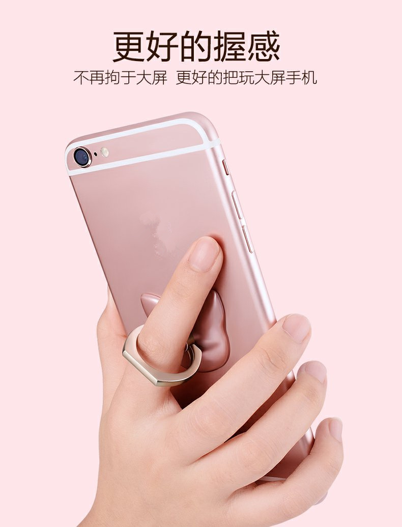360 Stopni Palec Serdeczny Mobile Phone Smartphone Uchwyt Stojak Na iPhone 7 plus Samsung HUAWEI Smart Phone IPAD MP3 Samochodu Zamontować stojak 12