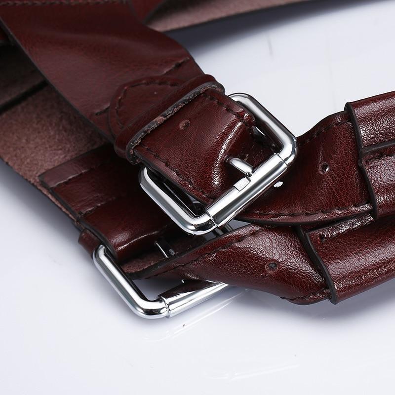 BVLRIGA Designer handbags high quality Women messenger bags Genuine leather bag Fashion Brand top-handle bags Oil Leather Bolsos