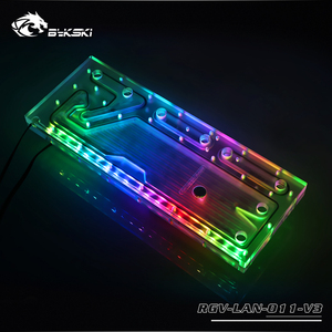 Image 4 - BYKSKI Acrylic Board Water Channel Solution kit use for LIAN LI O11 Dynamic Case / Kit for CPU and GPU Block / Instead reservoir