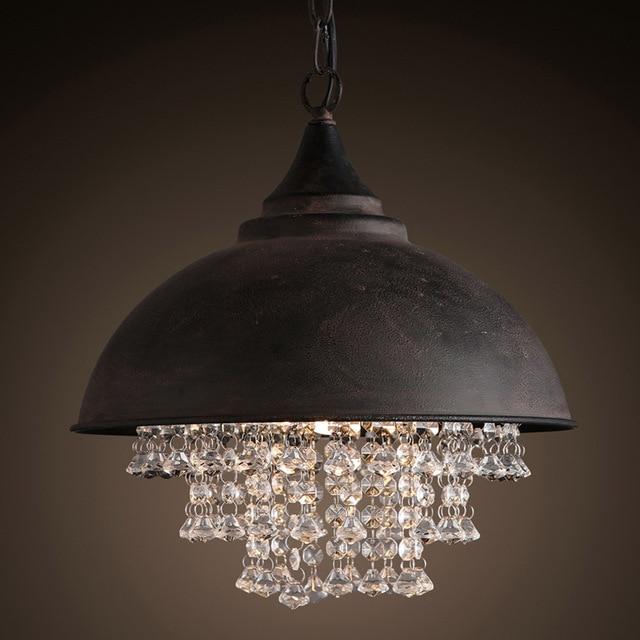 American Country Droplight Chic Classic Pendant L& LED/Incandescent Bulb Black Pot Cover Design Light & American Country Droplight Chic Classic Pendant Lamp LED ...