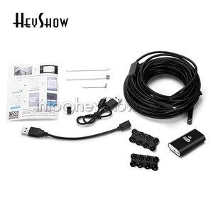 Image 5 - Lente de 8MM 8LED 720P HD cámaras de Endoscopio impermeable inspección Softwire Wifi Mini Endoscopio para Android Teléfono de Apple Windows IOS