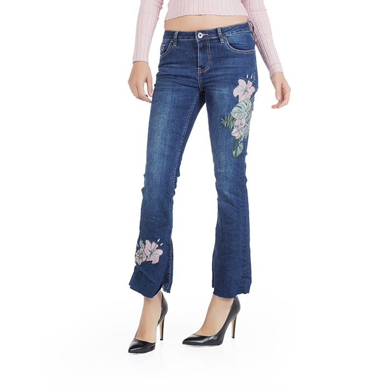 My will jeans Blue jeans fashion Laba cropped trousers 814 in Jeans from Women 39 s Clothing
