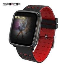 SANDA Smart Watch IP68 Waterproof Bluetooth Heart Rate Monitor Blood Pressure Smartwatch for Xiao mi Android IOS Men Women Clock цена и фото