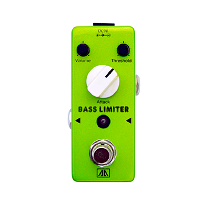 Bass limiter Bass Effect pedal Wide range limiting AA Series True bypass Electric Bass Effects Low Noise Operation Amplifier mooer ensemble queen bass chorus effect pedal mini guitar effects true bypass with free connector and footswitch topper