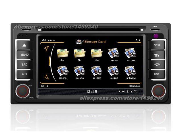 For Toyota Ipsum 2001 2009 Car GPS Navigation System Radio TV DVD IPod BT 3G WIFI