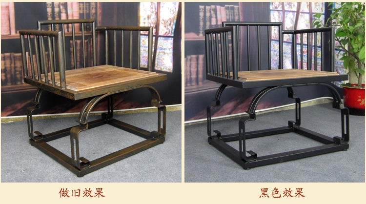 American Country With Industrial Iron Wood Coffee Table Tea Table Retro  Furniture Loft Long Coffee Table And Chairs Spill It In Hammocks From  Furniture On ...