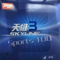 DHS Skyline TG3 pips-в Настольный теннис резиновый с губкой ракетка для пинг понга