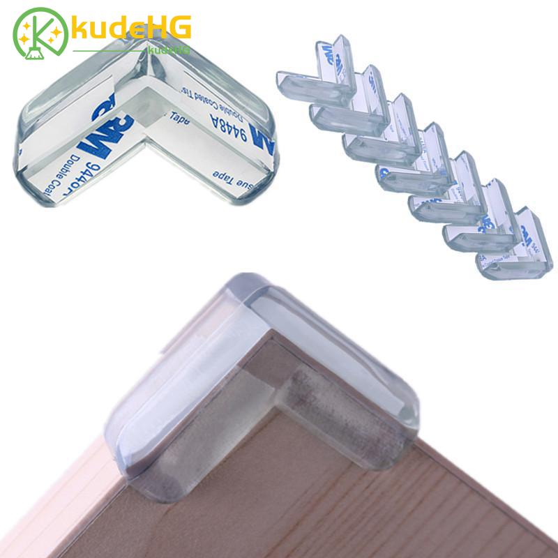 4Pcs PVC Soft Desk Table Guard Edge Child Safety Corner Protector Protection Cover Safe Cushion with Double Side Adhesive Tape4Pcs PVC Soft Desk Table Guard Edge Child Safety Corner Protector Protection Cover Safe Cushion with Double Side Adhesive Tape