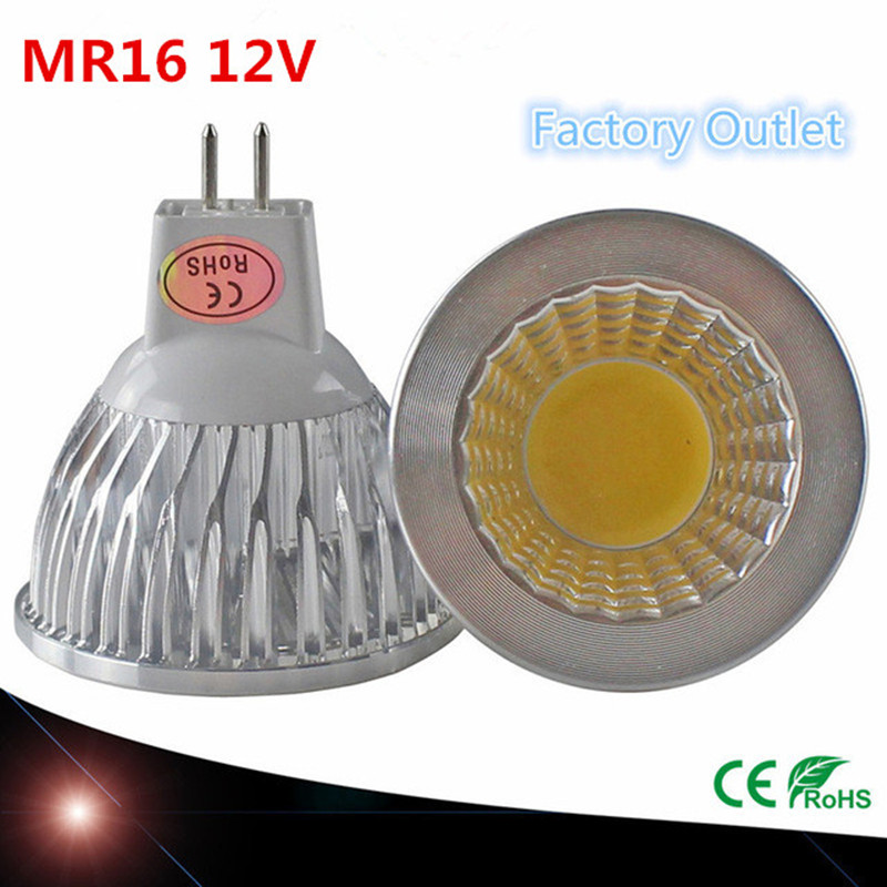 New High-power LED MR16 GU5.3 COB 6w 9w 12w 12V Dimmable LED Bulb Spotlight Warm White Light Cold White Natural Light Spotlight!