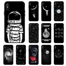 3D Painted Starry Sky Moon Case For Xiaomi Redmi Note 6 7 5 Pro Cases PocoPhone F1 Matte Cover For Xiaomi Mi 8 9 SE A2 Lite Capa(China)