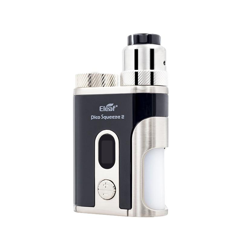 Kit Original Eleaf Pico compression 2 kit cigarette électronique RDA avec atomiseur corail RDA 2 100 W boîte Mod avec batterie 21700