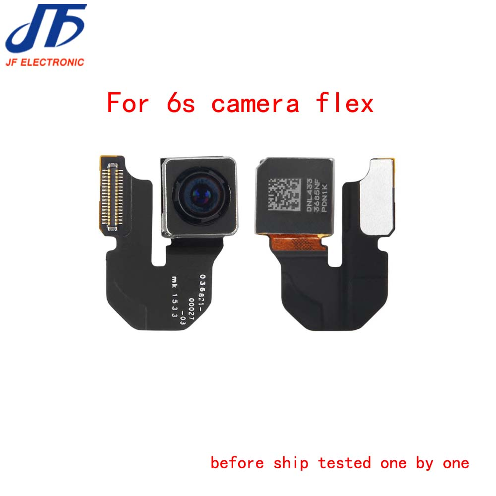 5pcs lot Back Rear Camera Flex Cable Ribbon Module Lens Flash Repair Parts Replacement for iphone