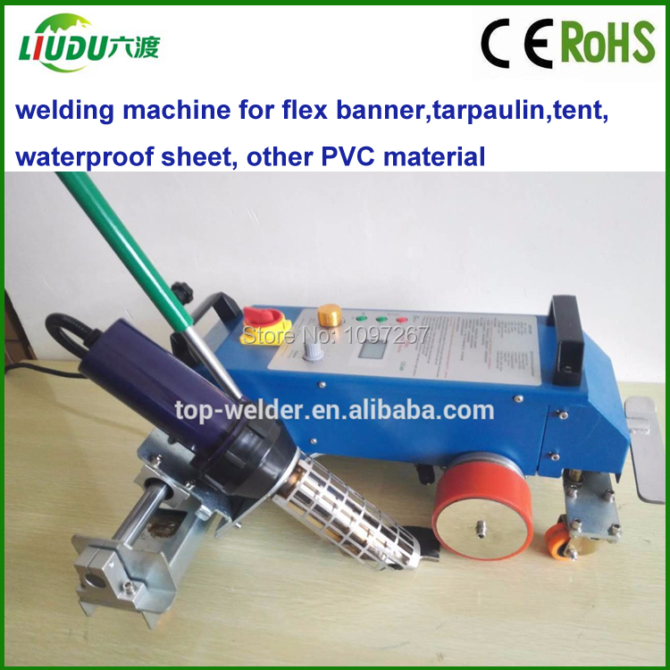 Provided Pvc Trapaulin Hot Air Welding Machine For Tape Welding To Adopt Advanced Technology Plastic Welders