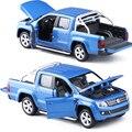 Caipo 1:30 volkswagen amarok pickup aleación vehículos de juguete modelo de vehículo tire hacia atrás los niños toys genuino licencia regalo colección