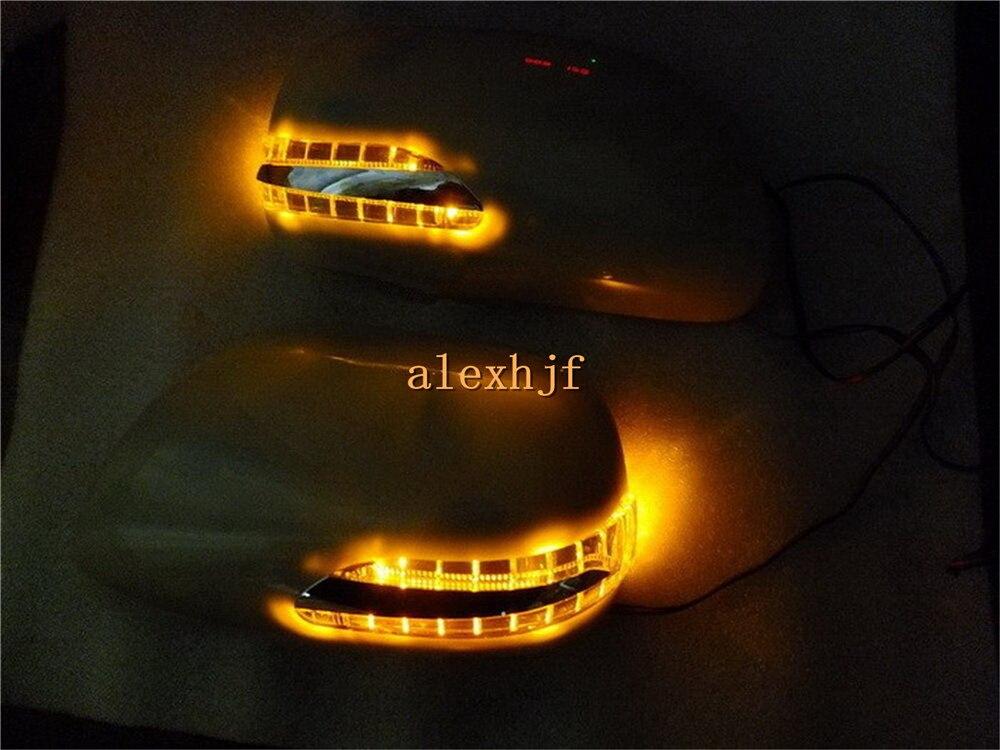 Led зеркало заднего вида фары с крышкой; светодиодный поворотники + DRL чехол для Toyota Camry (GSV40) Ближний Восток версии 2006 ~ 11