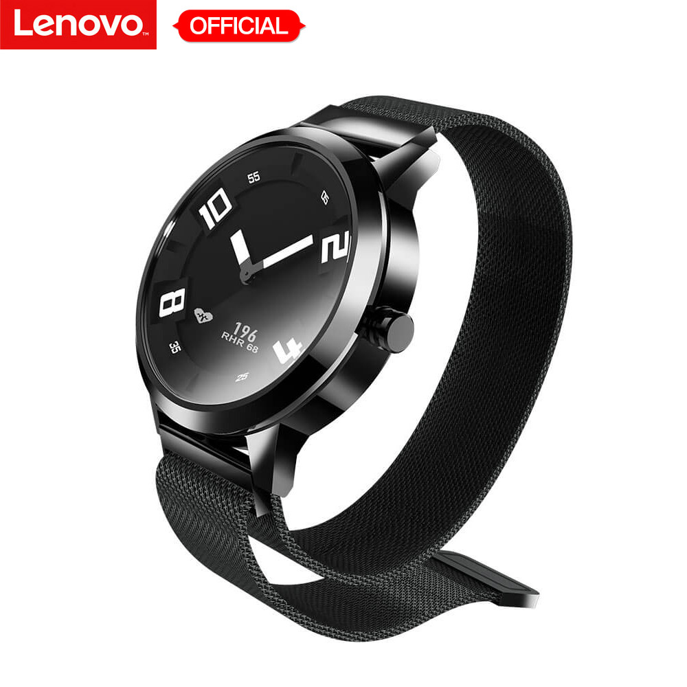 מקורי Lenovo שעון X/שעון X בתוספת חכם שעון עמיד למים שינה צג גשש כושר קצב לב מכאני Smartwatch